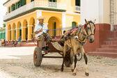 Trinidad town — Stock Photo