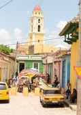 Trinidad village — Stock Photo