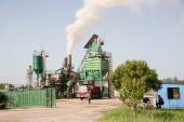 Industrial Plant in Cuba — Foto de Stock