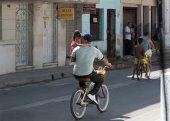 Cuban city — Foto de Stock