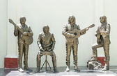 Statue honoring The Beatles — Stock Photo