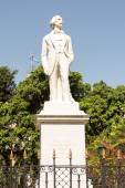 Statue to Carlos Manuel de Cespedes in Old Havana — Stock Photo