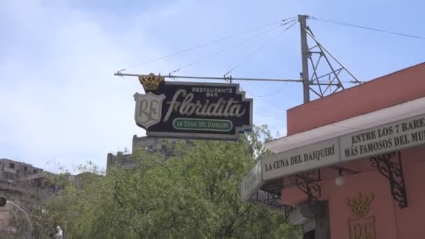 Cocktail bar El Floridita — Vidéo