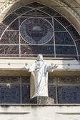 Roman Catholic Cathedral in Santa Clara,Cuba — Stok fotoğraf