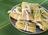 Delicious Cuban tamales — Stock Photo