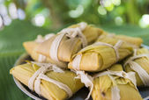 Delicious Cuban tamales — Foto Stock