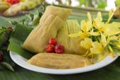 Traditional homemade tamales — Stock fotografie