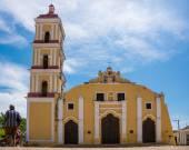 Saint John the Baptist Catholic Church in Remedios,Cuba — Stock Photo