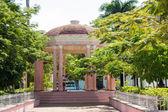 Gazebo in the Isabel II plaza in Remedios,Cuba — Stock Photo