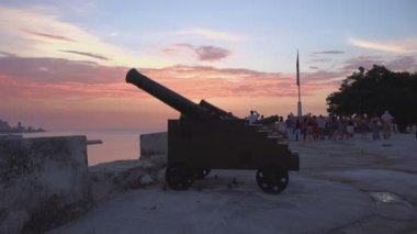 Traditional ceremony in Havana — Stock Video