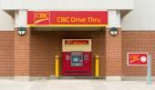 CIBC Drive Through ATM — Stock Photo
