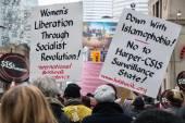 International Women's Day Celebration in Toronto — Stock Photo