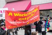 International Women's Day Celebration in Toronto — Foto de Stock