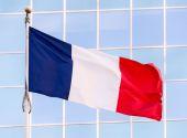 National flag of France. — Stock Photo