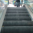 One side of escalator in YVR airport. — Stock Video #60036171