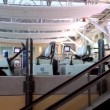 One side of escalator in YVR airport. — Stock Video #67647649