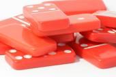 Czerwony Domino — Zdjęcie stockowe