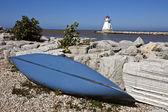 Lighthouse on Lake Huron  — Stock Photo