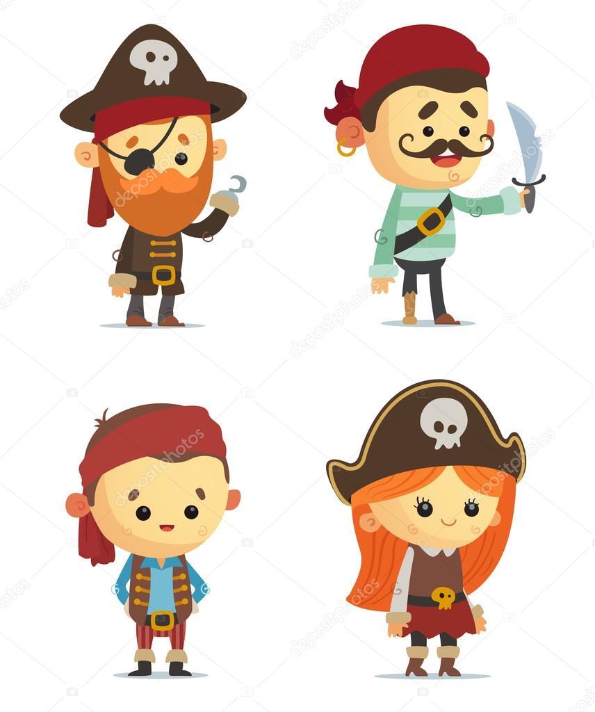 Dibujos animados piratas juego archivo im genes for Pegatinas de pared infantiles