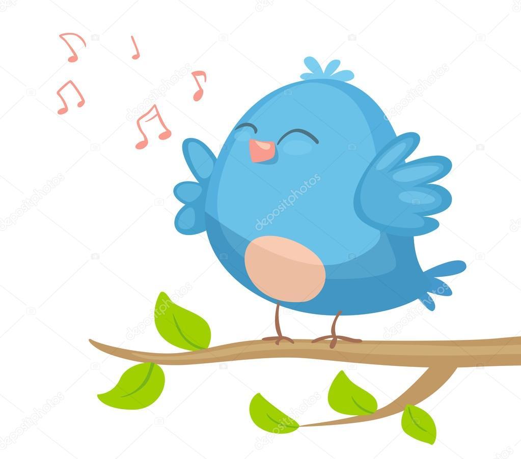 cartoon bird singing stock vector  u00a9 real illusuion sparrow clipart outline sparrow clip art free