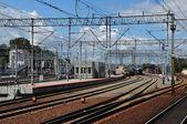 Train station in Gdynia, Poland — Stock Photo