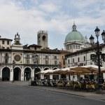 Piazza della Loggia, Brescia, Italy — Stock Photo #79479166
