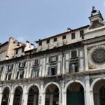 Astronomical clock in Brescia — Stock Photo #79479256