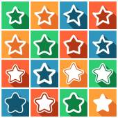 Favorite, favourite, bookmark, rank — Stock Vector