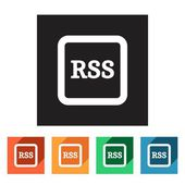 Rss icons — Stock Vector