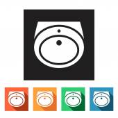 Wash-basin icons — Stockvektor