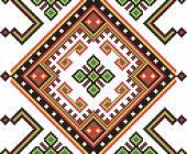 Ethnic ukrainian seamless ornament — Stock Vector