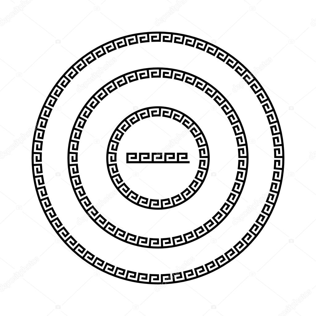 Круг орнамент меандр. Круглая рамка — Векторное ...: http://ru.depositphotos.com/92057584/stock-illustration-circle-ornament-meander-round-frame.html