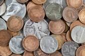 旧的美国硬币 — 图库照片