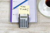 Doing Income Taxes  — Foto Stock