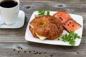 Healthy Morning Breakfast — Stock Photo