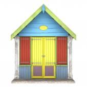 海滩小屋 — 图库照片