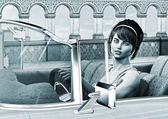 Vintage Woman — Zdjęcie stockowe