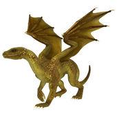 Golden Dragon — Стоковое фото
