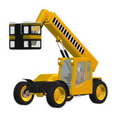 Telehandler — Stock Photo