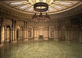 3d Illustration Oriental Palace — Stock Photo