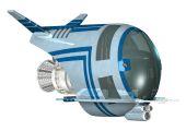 Spaceship — Stock Photo