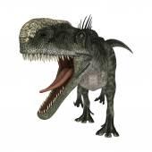 Dinosaur Monolophosaurus — Stock Photo