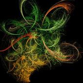 искусство abstarct делает интервалы между цветами — Стоковое фото