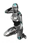 Cyborg — Stock Photo