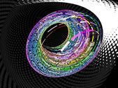 Vector colorful swirl — Stock Vector