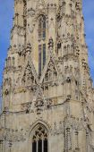 Detail of St. Stephans Cathedral in Vienna, Austria — Stock Photo