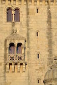 Detail van Belem Tower — Stockfoto