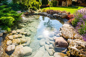 Modern landscape design — Stock Photo