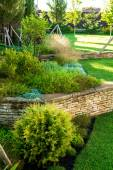 Modern landscape design — Stock Photo