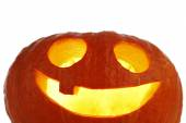 Jack O Lantern halloween pumpkin — Stock Photo
